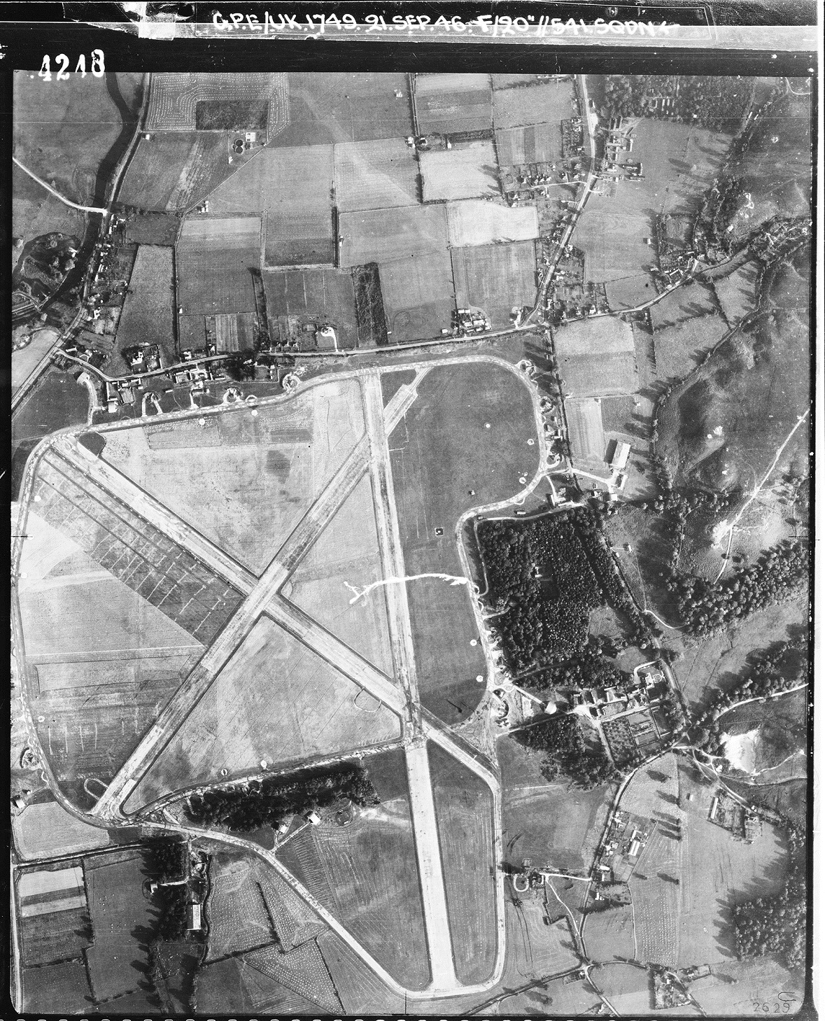 Ibsley Airfield Overview – New Forest Knowledge