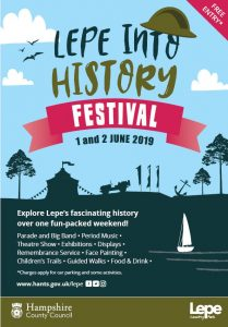 Lepe Into History Festival Poster