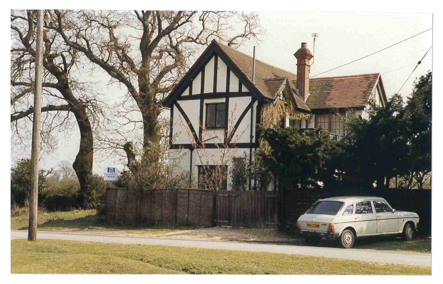 The Forest Toys factory, Burley Road, Brockenhurst c. 1989